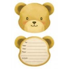 Teddy Bear Party Invitations