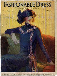 1920-е, dress of the day, fashion, обложки