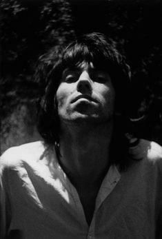 Dominique Tarlé - Keith Richards, Villa Nellcôte, 1971