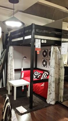 Ikea. Teen boy room idea