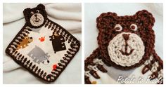 My little bear has a new friend ... a little bear of his own! ... I made him this sweet lovey bear applique pattern