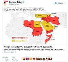Celebrities react to Trumpaloompa's Muslim ban on Twitter