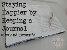 Staying happier by keeping a journal