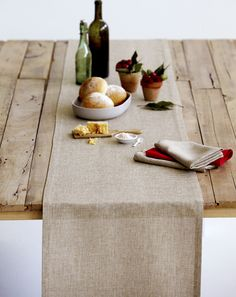 Natural Weave Table Runner