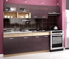 Kuchyňa - Casarredo - Moreno Moderná kuchynská linka za výhodnú cenu dostupná v niekoľkých farebných variantoch.