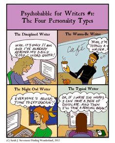 So which personality type are you?