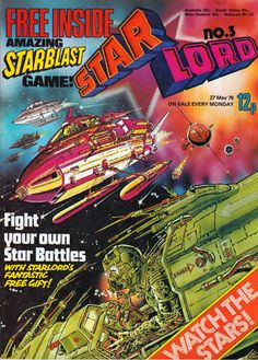 This week in 1978: STARLORD No.1