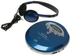 Blue 60 Second Cd-Player