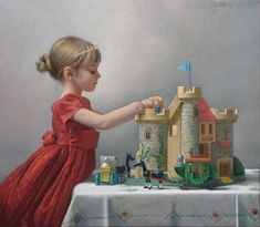 """Cinderella Dreams"" -- by Stephen Gjertson (1949, American)"