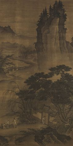 Dai Jin: Visiting a Friend on a Moonlit Night | Chinese Art Gallery | China Online Museum