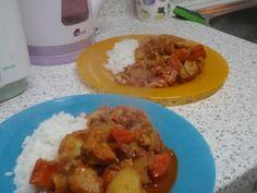닭도리탕Toktoritang (Korean chicken stew)