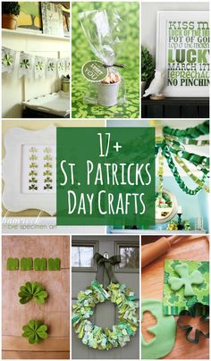 17+ St. Patrick's Day Craft Ideas on { lilluna.com }