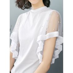 40 Colorful Blouses Trending Today – Fashion New Trends - Blouse designs Kurti Sleeves Design, Sleeves Designs For Dresses, Sleeve Designs, Mode Outfits, Skirt Outfits, Casual Outfits, Trendy Dresses, Fashion Dresses, Fashion Clothes