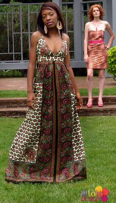 I love Afrikan attire! I feel beautiful and comfortable ^_^ African Inspired Fashion, African Print Fashion, Africa Fashion, Fashion Prints, Love Fashion, African Prints, Fashion Design, Ankara Fashion, African Attire