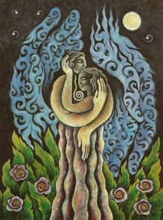 Balance of the sacred polarities of feminine and masculine ♥ (by Krista Lynn…