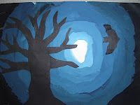 Mrs. T's First Grade Class: Halloween Silhouettes