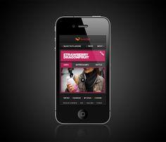 #Pepsi #SoBe #Mobile by Clément Faydi, via #Behance  http://www.techirsh.com