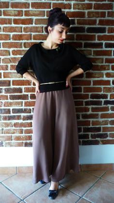 Shreveport baggy trousers di MisStufiSaraForlini su Etsy