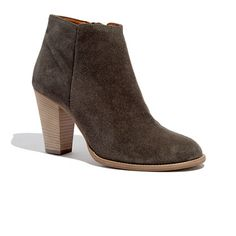 Madewell - The Hadley Boot in Suede