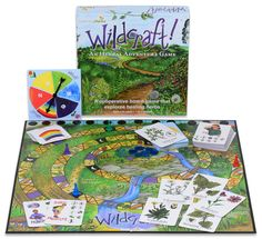 Wildcraft! adventure board game, age 4+ - learn about plants/herbs in a cool cooperative game, can get cheaper on Amazon