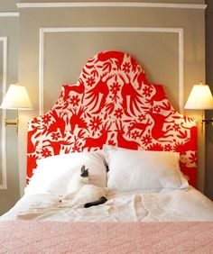 Headboard DIYs - 25 great ideas.