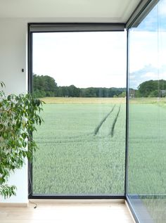 Less is more: compact én ruim • Architect: www.stevenalice.be (nieuwbouw • modern • verlijmd hoekraam)