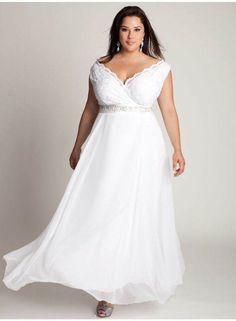 vestidos de novia para gorditas con decoración nítida