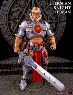 Eternian Knight He-Man (Masters of the Universe) Custom Action Figure  http://www.figurerealm.com/viewcustomfigure.php?FID=70152