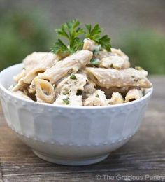 Chicken Penne In Lemon Basil Sauce