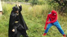 SuperHeroes in Real Life 6! Batman, Training super heroes - Супер Герои ...