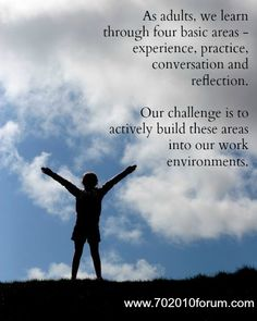 """TRANSFORMATIONAL LEARNING is a """"process by which we transform our taken-for-granted frames of reference (meaning perspectives, habits of mind, mind-sets) to make them more inclusive, discriminating, open, emotionally capable of change, and reflective so that they may generate beliefs and opinions that will prove more true or justified to guide action"""" (Mezirow, as cited in Ross-Gordon, 2003, p. 7-8)."""