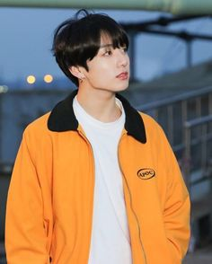 Jungkook Yellow Jacket from Euphoria MV Jung Kook, Bts Bangtan Boy, Bts Jungkook, Namjoon, Jungkook Songs, Jikook, Wattpad, Fanfiction, J Hope Dance