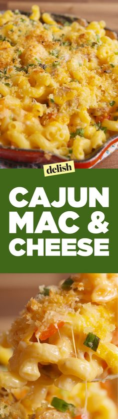 Looking for great cajun recipes? This Cajun Mac 'n Cheese is the best. Creole Recipes, Cajun Recipes, Seafood Recipes, Pasta Recipes, Chicken Recipes, Dinner Recipes, Cooking Recipes, Healthy Recipes, Haitian Recipes