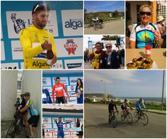 Cycling fans start your year in Portugal with a big blue sky and traffic free roads at the Algarve bike race