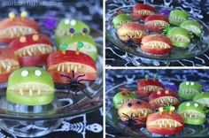 Party food recipes (a bunch, easy) Halloween halloween lovable-food sweets
