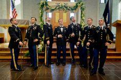 Saber fashion. Jewish Military Wedding at West Point, NY