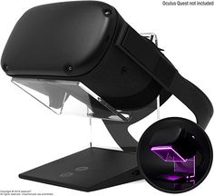 Illuminated Charging VR Stand Universally Compatible with Oculus Quest HTC Vive Rift-s Go Cosmos PSVR Index and All Standard Sized VR Headsets Xbox Wireless Controller, Pc Console, Vr Headset, Xbox One S, Computer Accessories, Cosmos, Green And Grey, Riding Helmets, Amazon