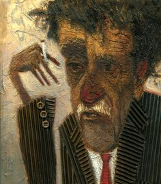 Kurt Vonnegut illustrated by Eric Seat :: via ericseat.com