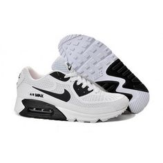 huge discount e77e0 034a6 Mens Nike Air Max 90 Shoes White Black Cheap Nike Running Shoes, Buy Nike  Shoes