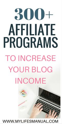 Wondering why you are not making any affiliate sales? You are maybe promoting a wrong products on your blog. Get access to the affiliate programs master list and increase your blog income in days. #affiliatemarketing #makemoneyfromhome aff link