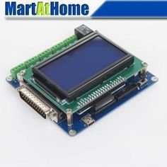 57.90$  Watch now - http://alisd0.worldwells.pw/go.php?t=1821407101 - Intelligent 5 Axis CNC Breakout Board Interface w/ LCD Digital Display Support Mach3/EMC2/KCAM4 #SM613 @SD