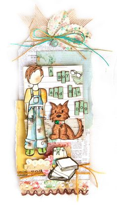 Scrap Escape: Ready for the New Prima Julie Nutting Doll Stamps?