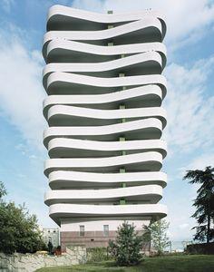 ECDM Architectes Extends Parisian Apartments With Wavy Balconies   Decor Advisor