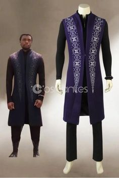 2018 Black Panther T'Challa Cosplay Costume, New Black Panther Cosplay Costume, Classic Halloween Cosplay Costume for Adult Men, Customized Accepted African Shirts For Men, African Attire For Men, African Prom Dresses, African Clothing For Men, Latest African Fashion Dresses, Nigerian Men Fashion, Indian Men Fashion, Business Casual Attire For Men, African Wedding Attire