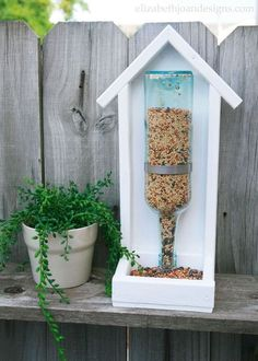 You might want to save your empty wine bottles when you see these!