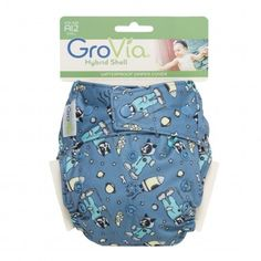 GroVia® Cloth Diaper Shell in New Colors - FREE SHIPPING