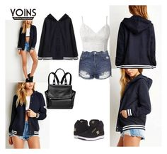 """Yoins 10"" by sarahguo ❤ liked on Polyvore featuring Topshop, DC Shoes and Givenchy"
