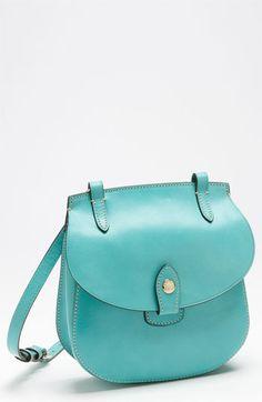 Dooney & Bourke Leather Crossbody Bag Aqua