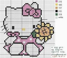 Hello Kitty Örgü Şemaları | Hobilendik.net