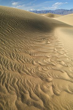 ✮ Mesquite Flat Sand Dunes, Death Valley National Park, California